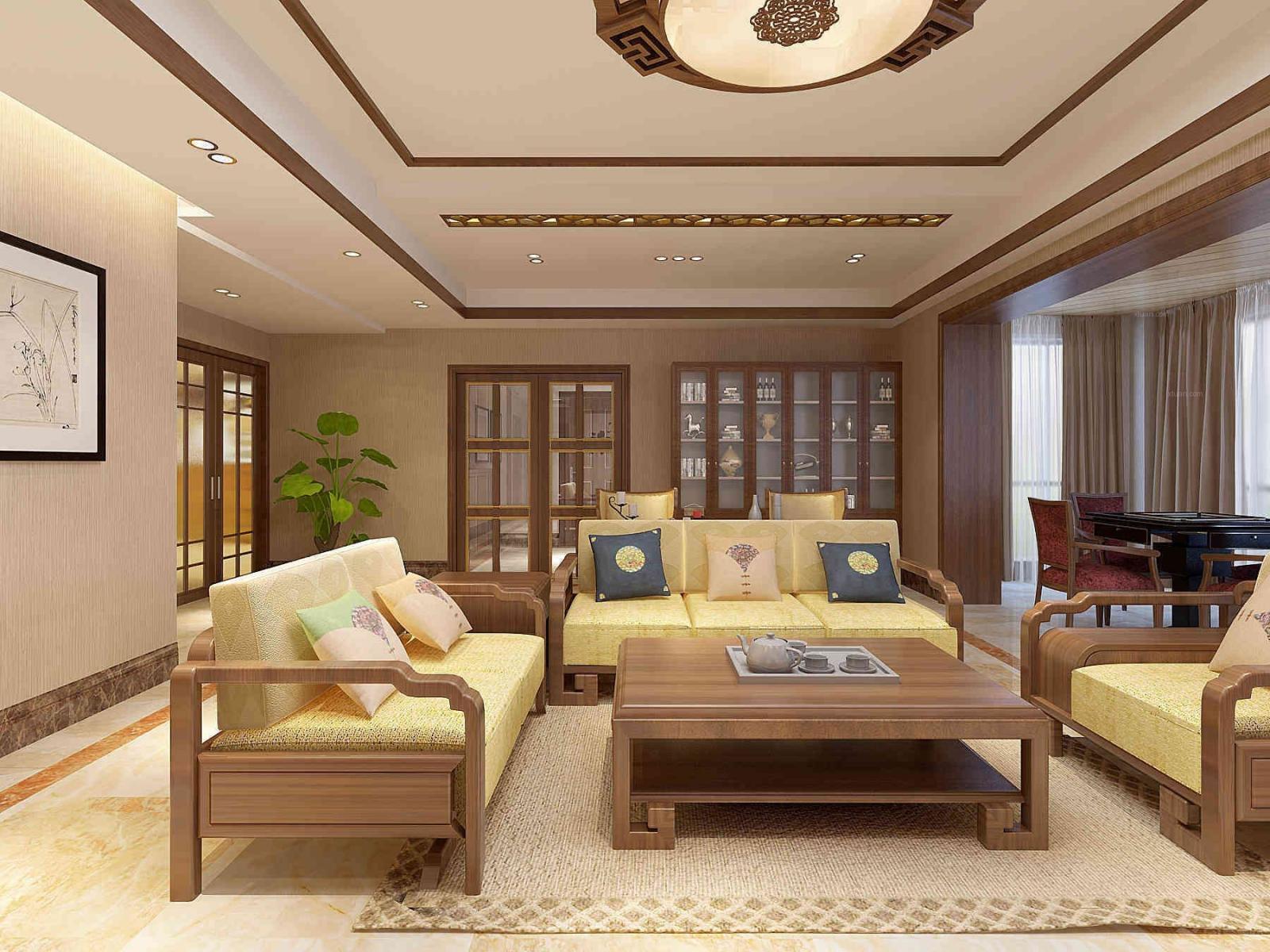 大户型中式风格客厅