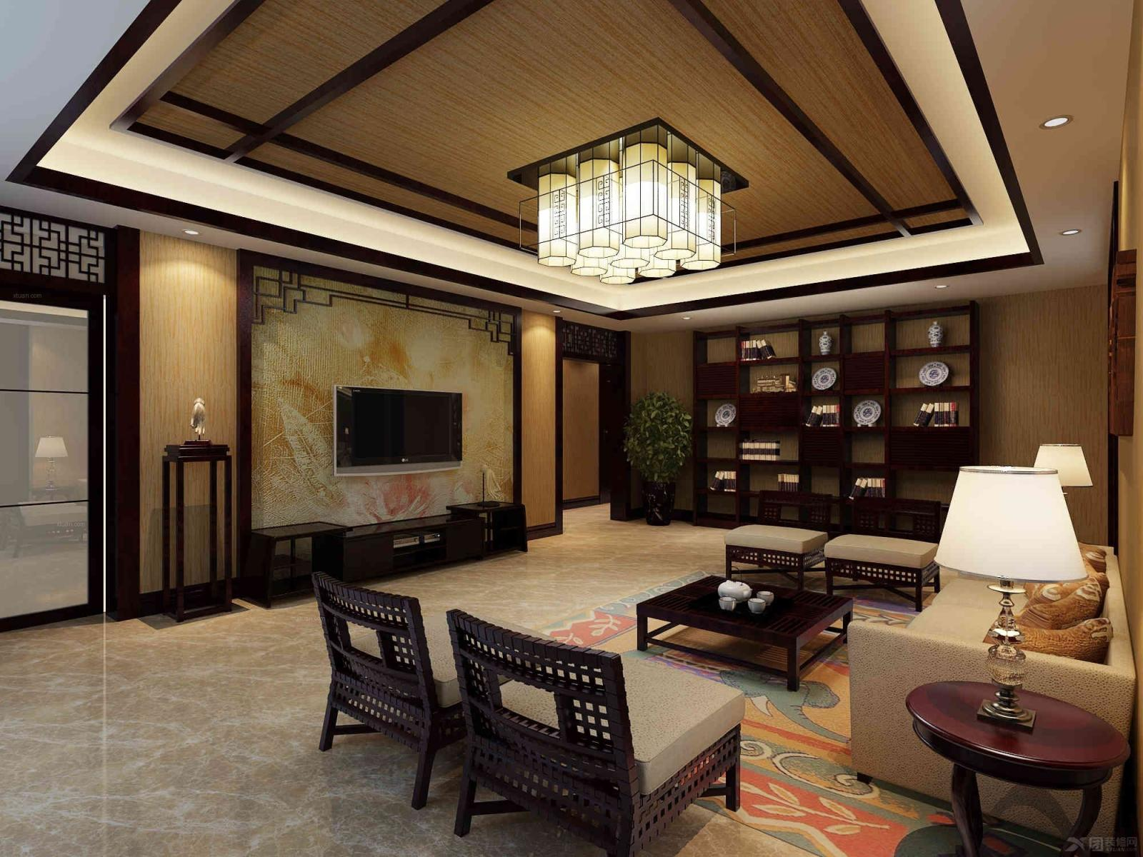 大户型东南亚风格客厅