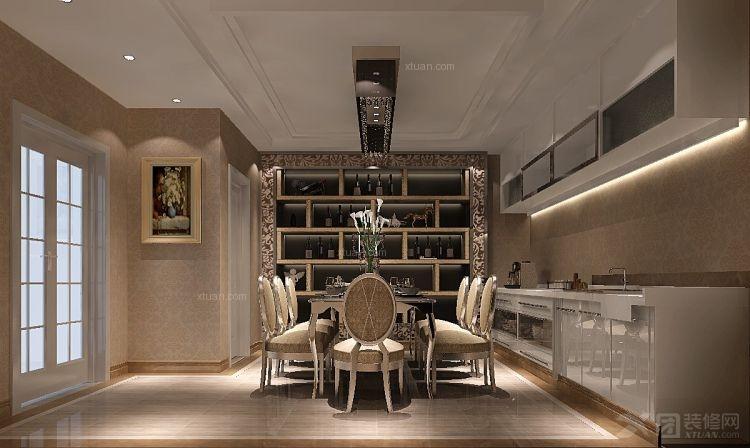 白领公寓欧式风格餐厅