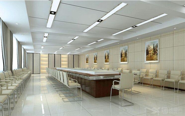 会议室装修设计 -会议室装修效果图图片