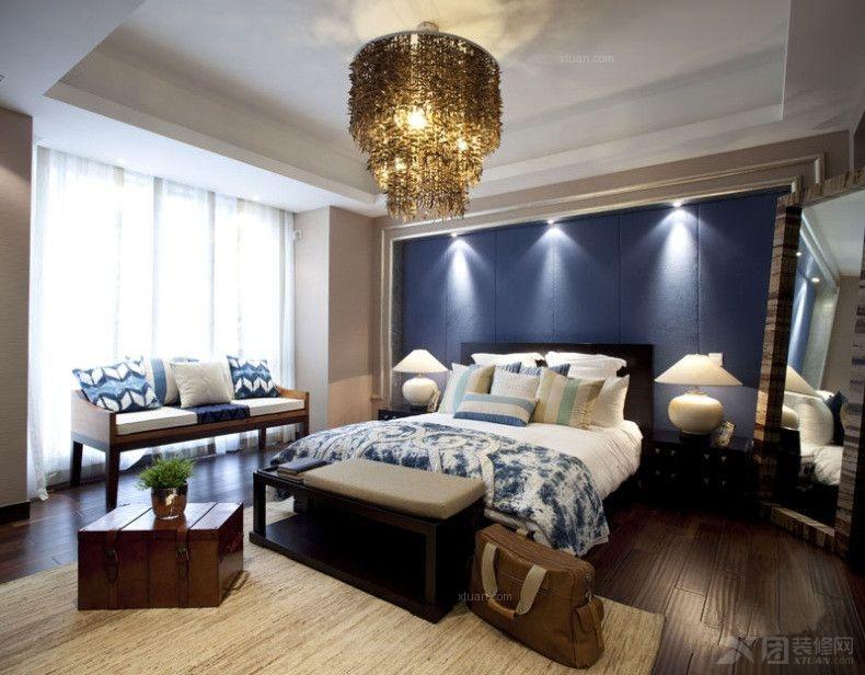 大户型东南亚风格卧室