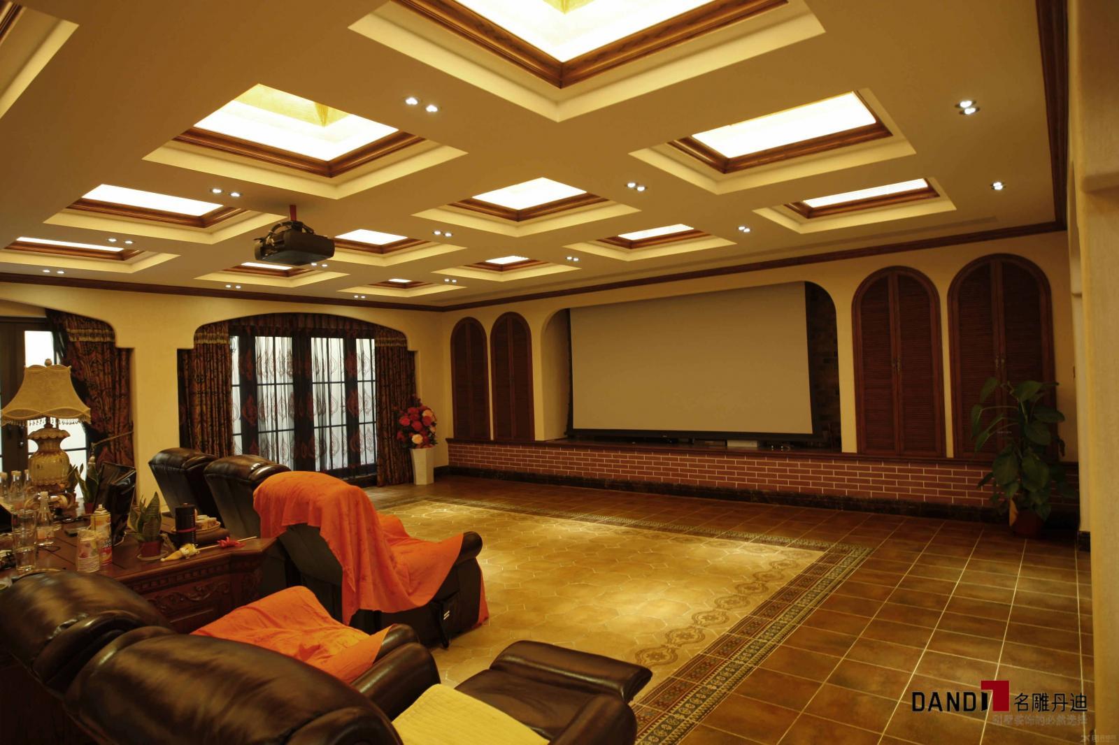 别墅欧式风格地下室_兰乔圣菲800平别墅豪宅装饰装修图片