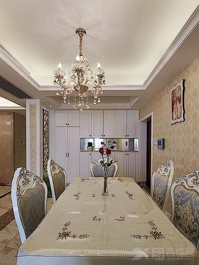 大户型简约风格餐厅