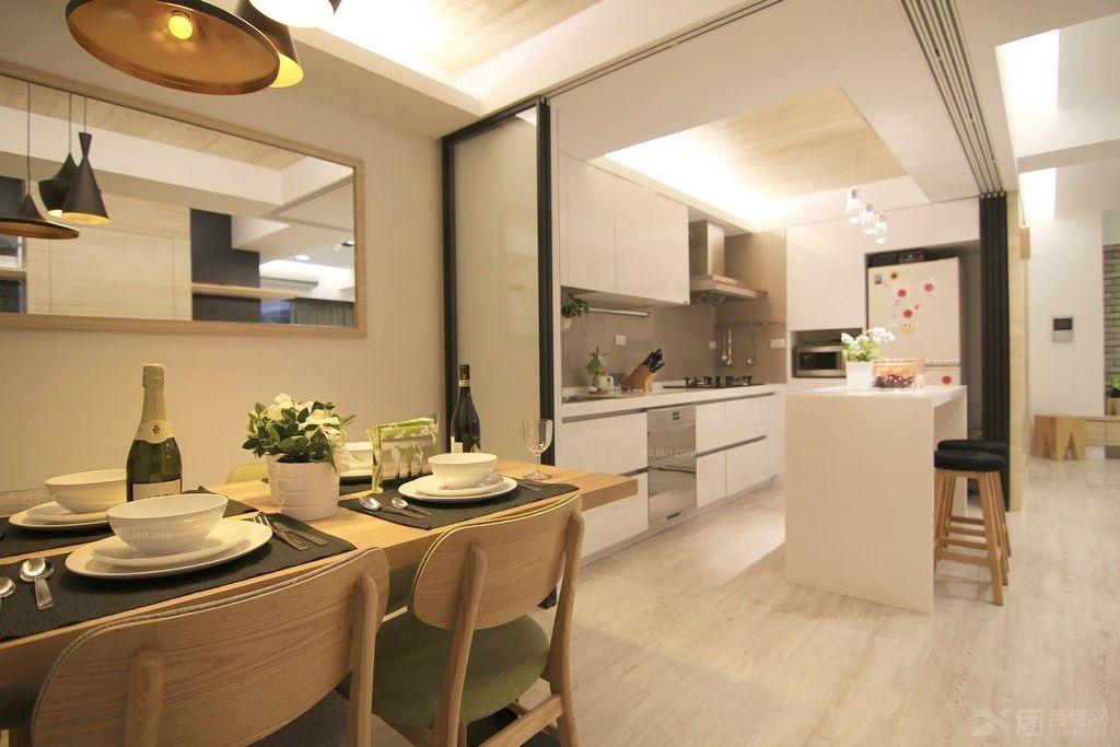 三居室北欧风格厨房
