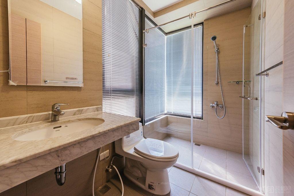 三居室日式风格浴室