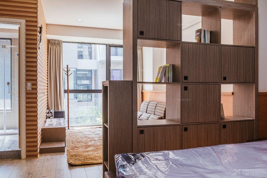 三居室日式风格卧室