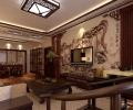 142平东亚国际花园中式风格