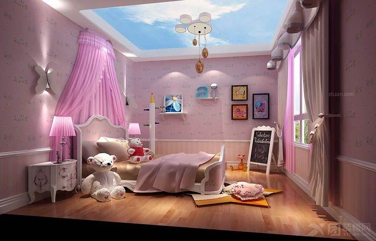 温馨儿童房间装修效果图大全2014图片装修效果图