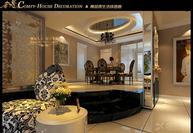 桓台最好的装饰公司城市人家鸿嘉星城复式装修