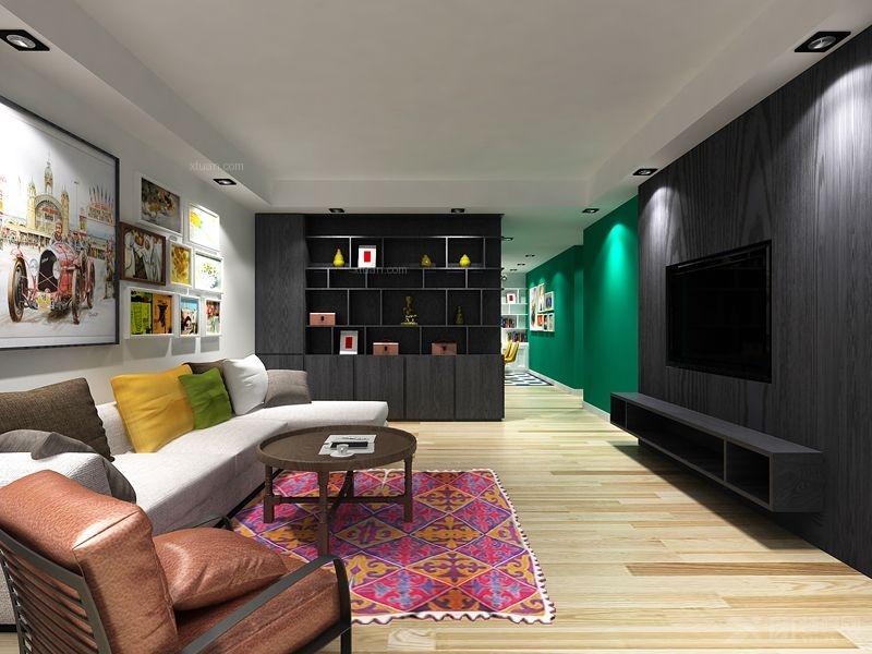 白领公寓雅致主义客厅