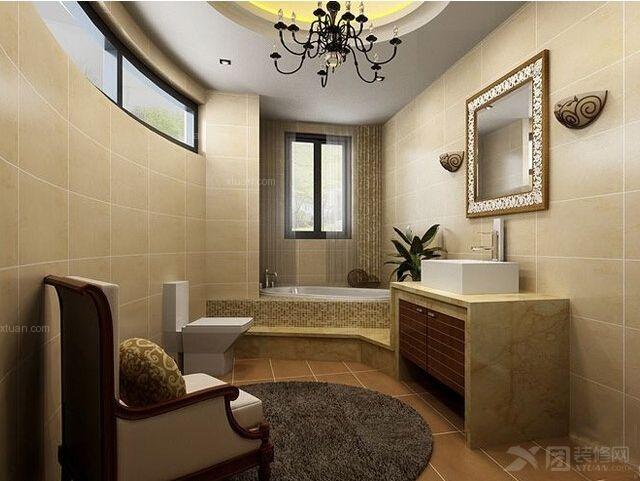 四居室卫生间