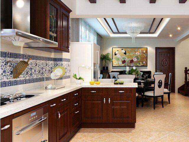 四居室厨房