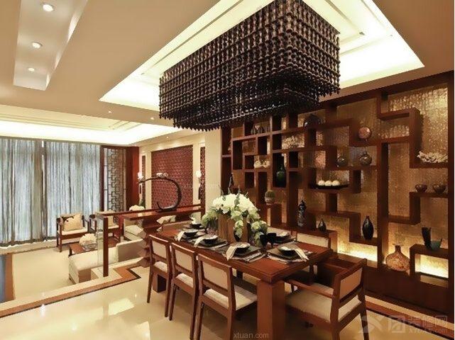 四居室餐厅