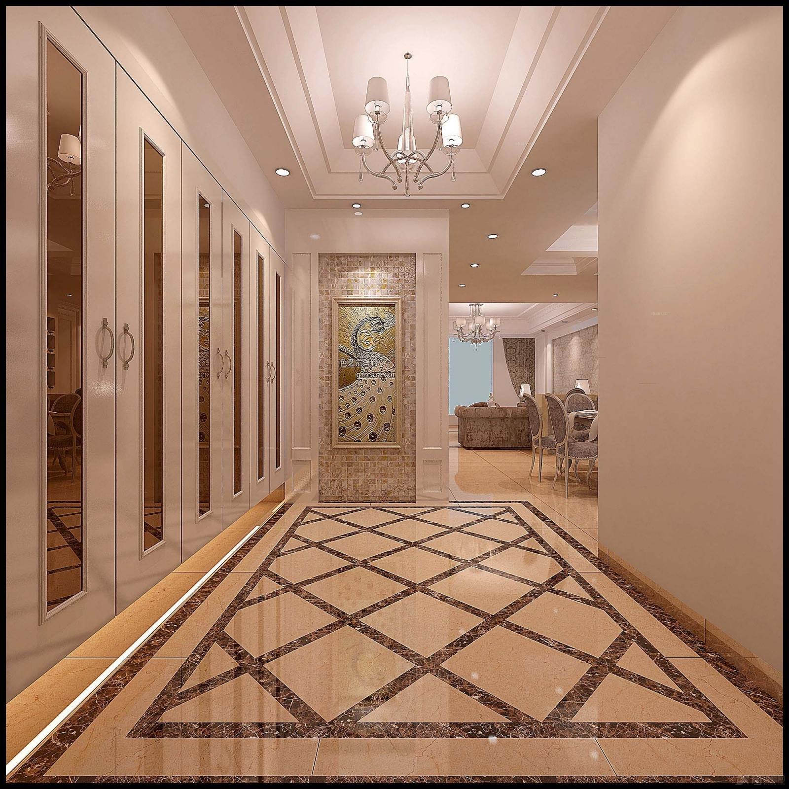 复式楼欧式风格餐厅_木兰枫丹陈总楼中楼装修效果图-x图片