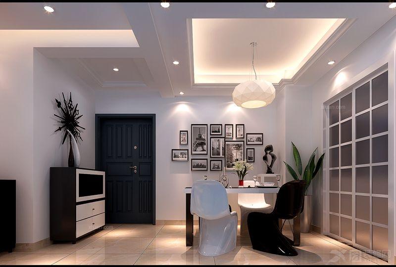奥克斯盛世经典-现代风格-二居室