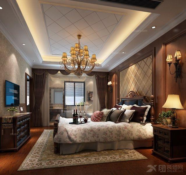 别墅简欧风格卧室