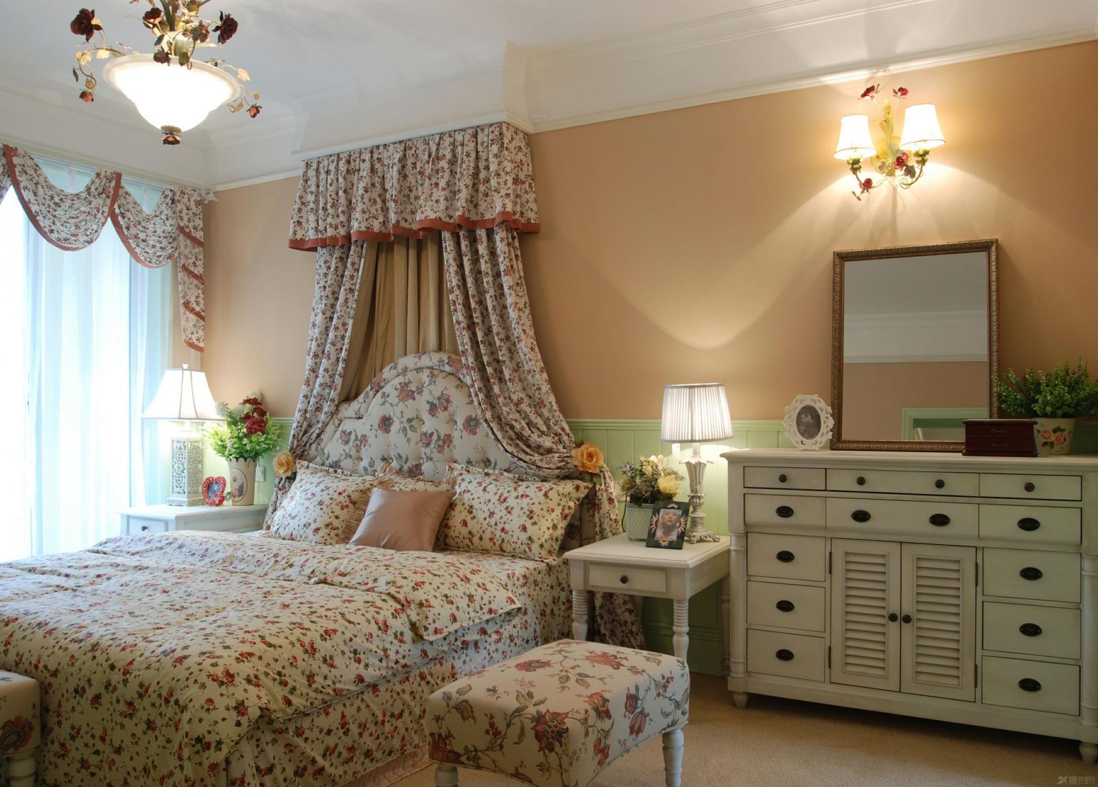 两居室田园风格卧室