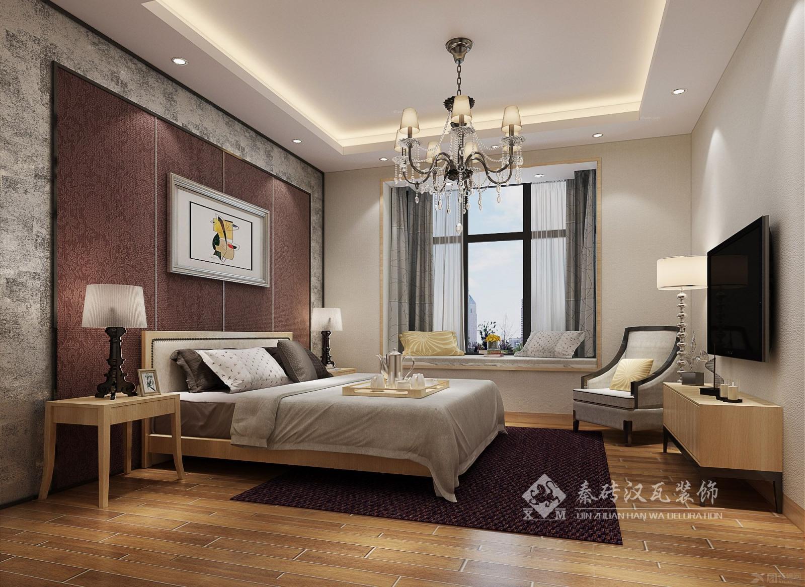 两居室时尚风格卧室
