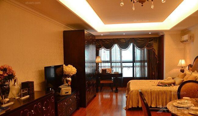两居室新古典卧室