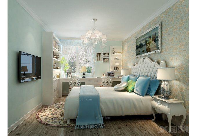 两室一厅混搭风格卧室