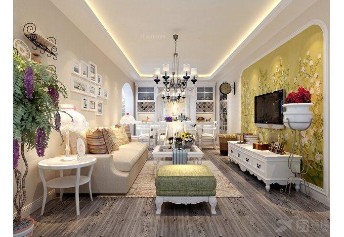 两室一厅混搭风格客厅