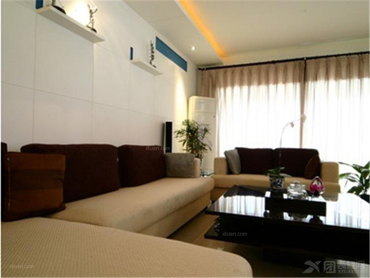三室一厅韩式风格客厅
