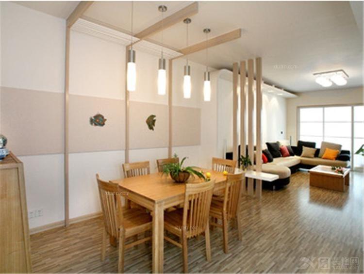 三室一厅日式风格餐厅