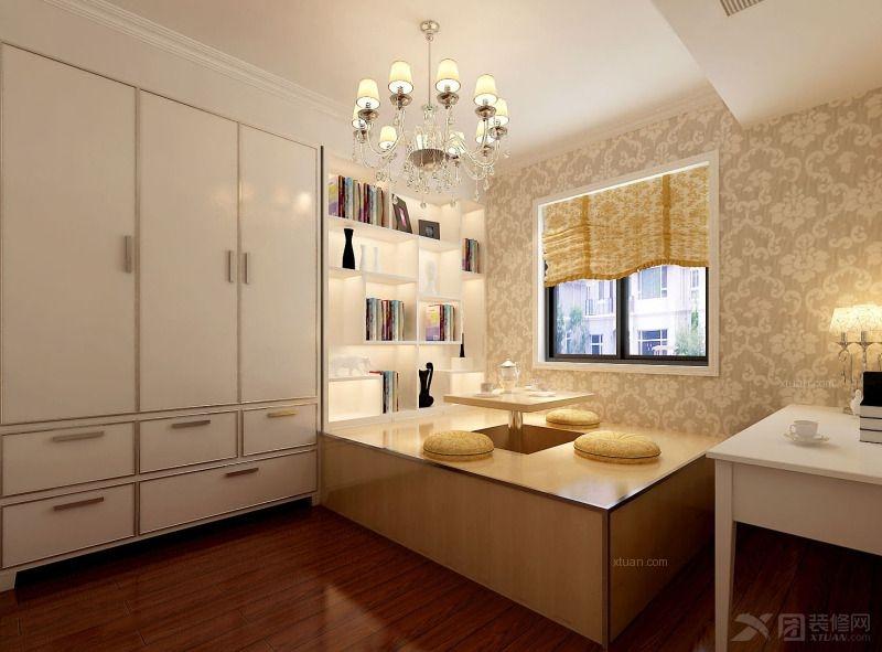三居室欧式风格书房