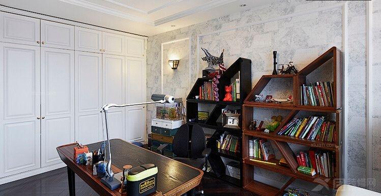 两居室新古典书房