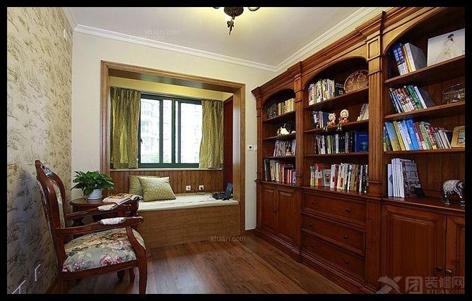 三居室地中海风格书房软装