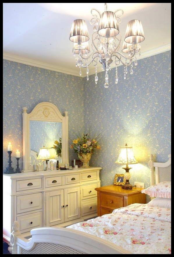 两居室田园风格卧室软装