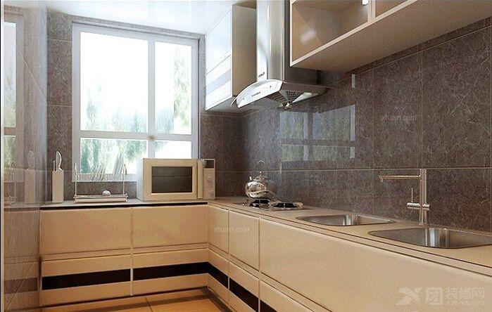三室两厅现代风格厨房