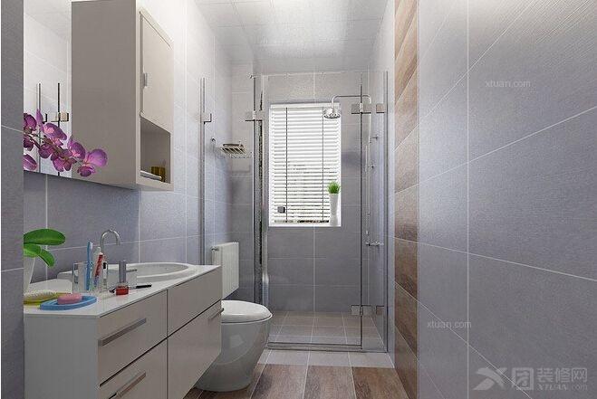 两居室中式风格卫生间
