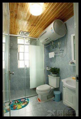 两居室田园风格卫生间软装