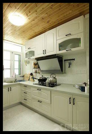两居室田园风格厨房厨具