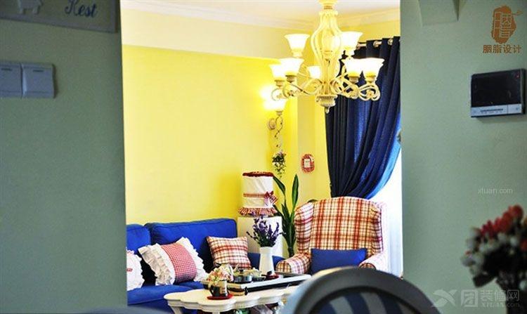 三室两厅地中海风格餐厅软装