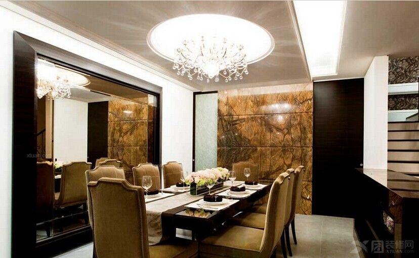 别墅新古典餐厅