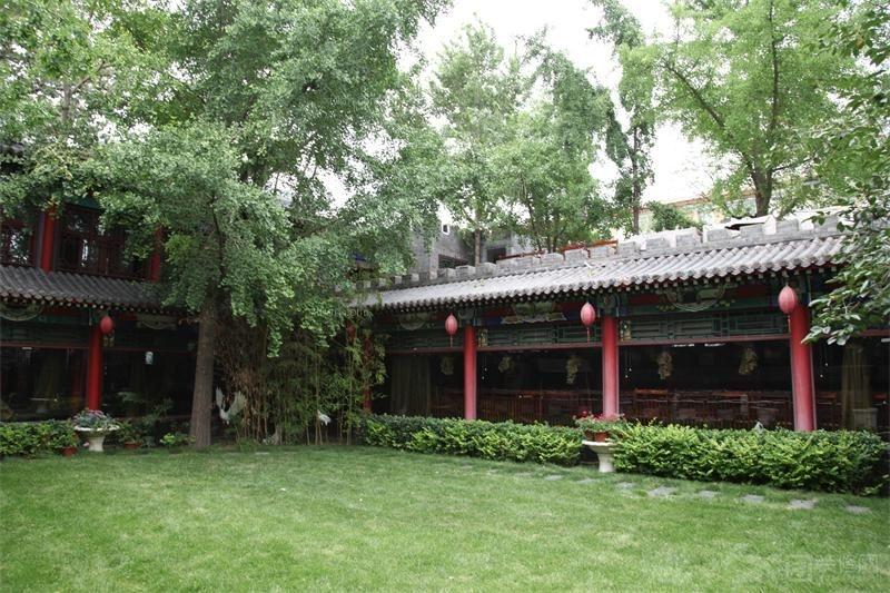 中式装修园林设计实景图