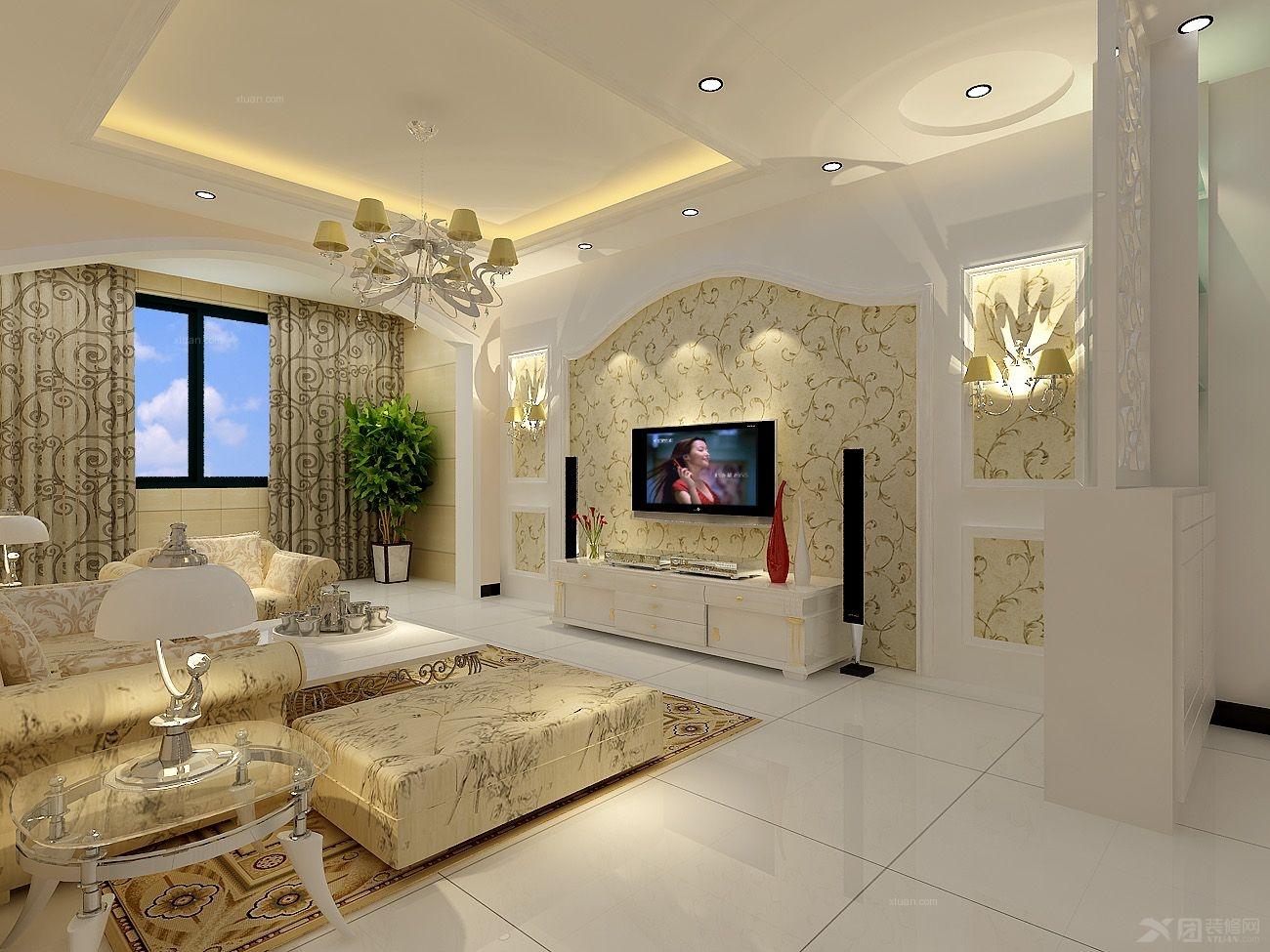 两室两厅简欧风格客厅