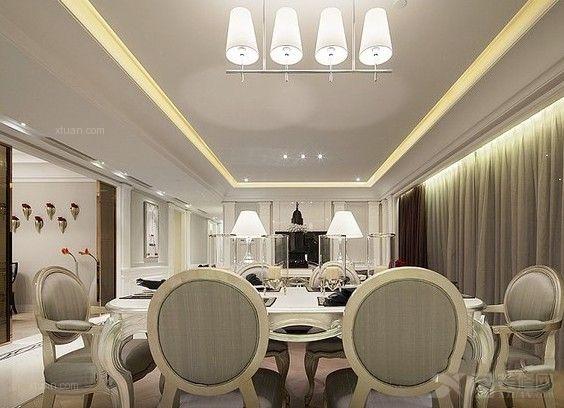 别墅法式风格餐厅