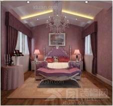 别墅卧室软装