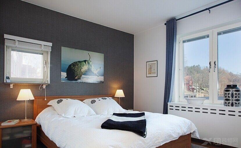 别墅北欧风格卧室