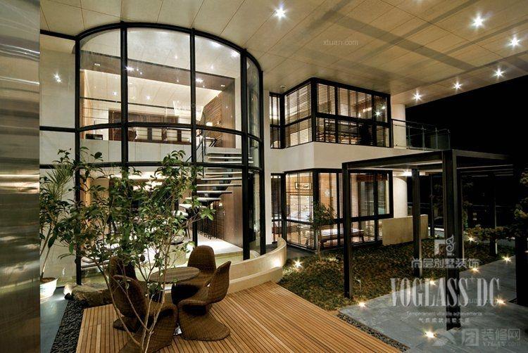 独栋别墅现代风格客厅软装