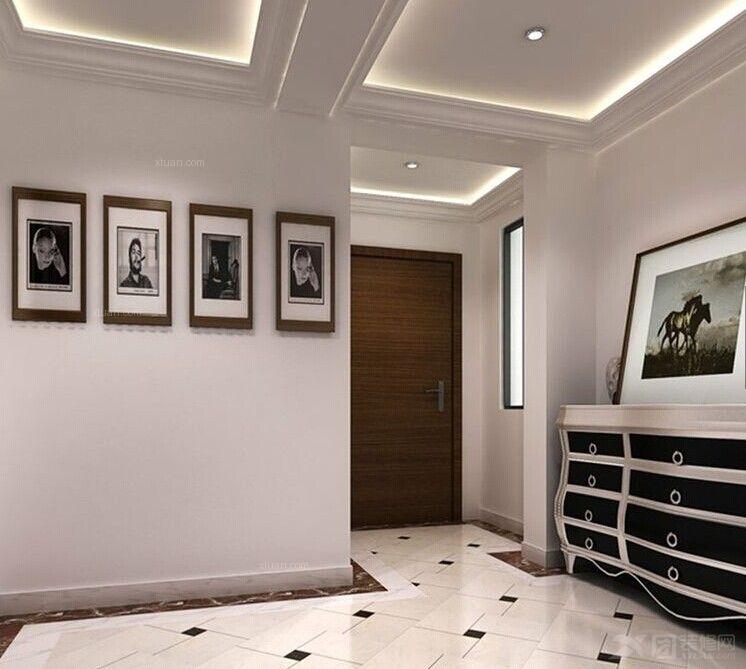 三室两厅现代简约玄关