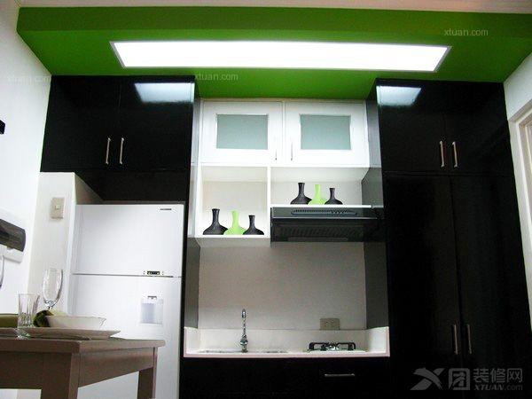 一居室现代简约厨房