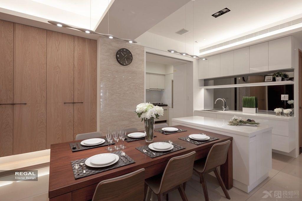 两室一厅日式风格餐厅