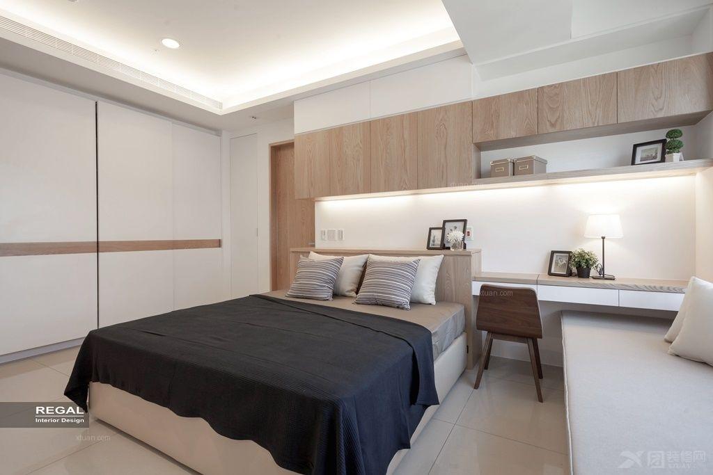 两室一厅日式风格卧室