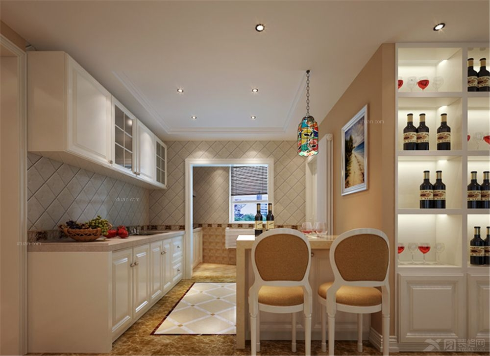 三居室欧式风格厨房
