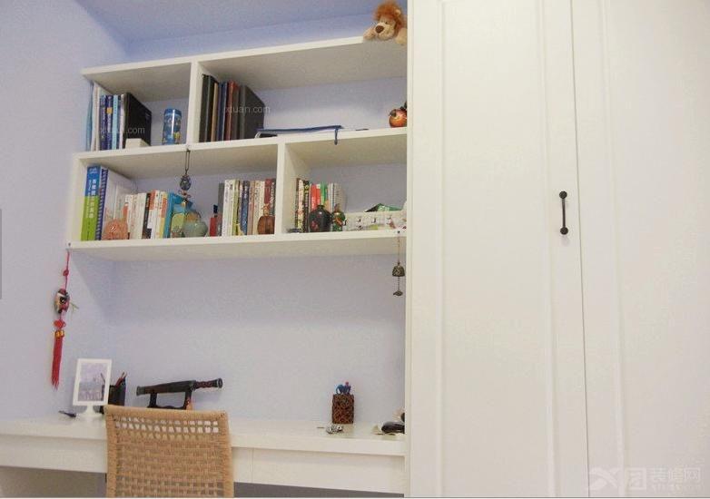 四居室混搭风格书房