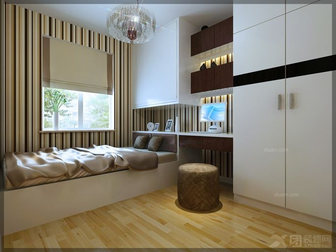 两居室简约风格卧室